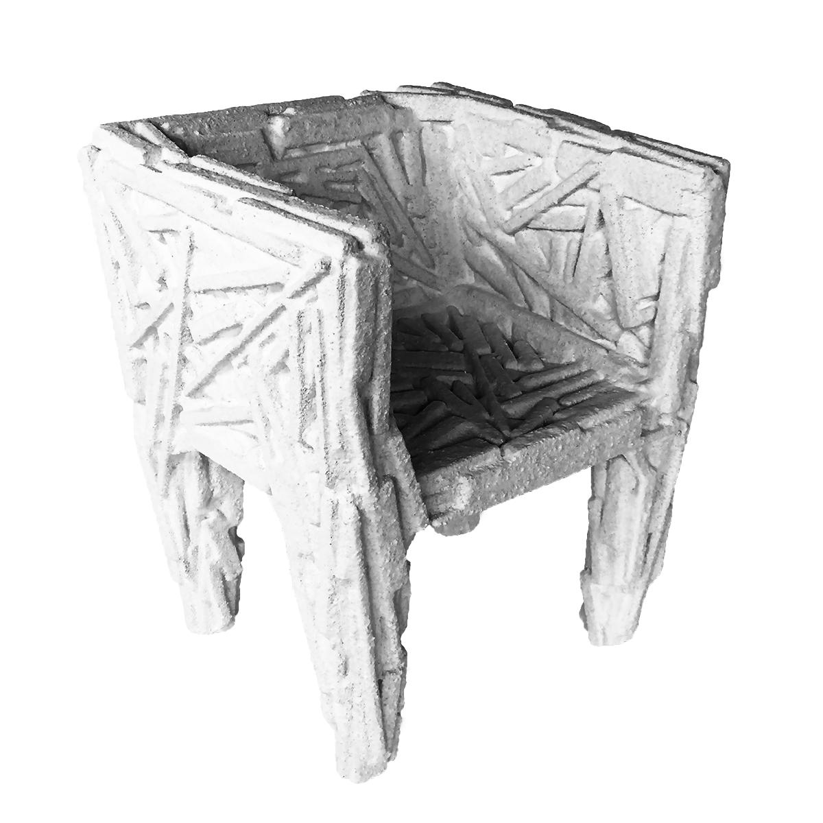 Sweet Salt Chair Front