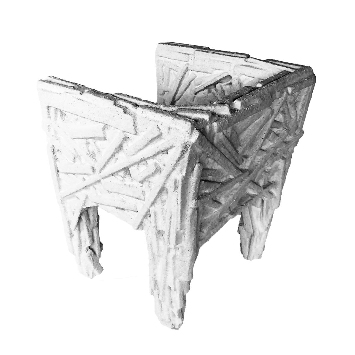 Sweet Salt Chair Rear