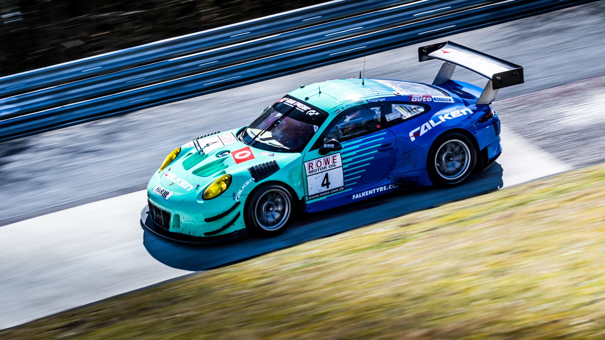 Klaus Bachelor and Martin Ragginger in their Falken Motorsport Porsche 911 GT3 R managed to finish 3rd and took their second top three result on a row.