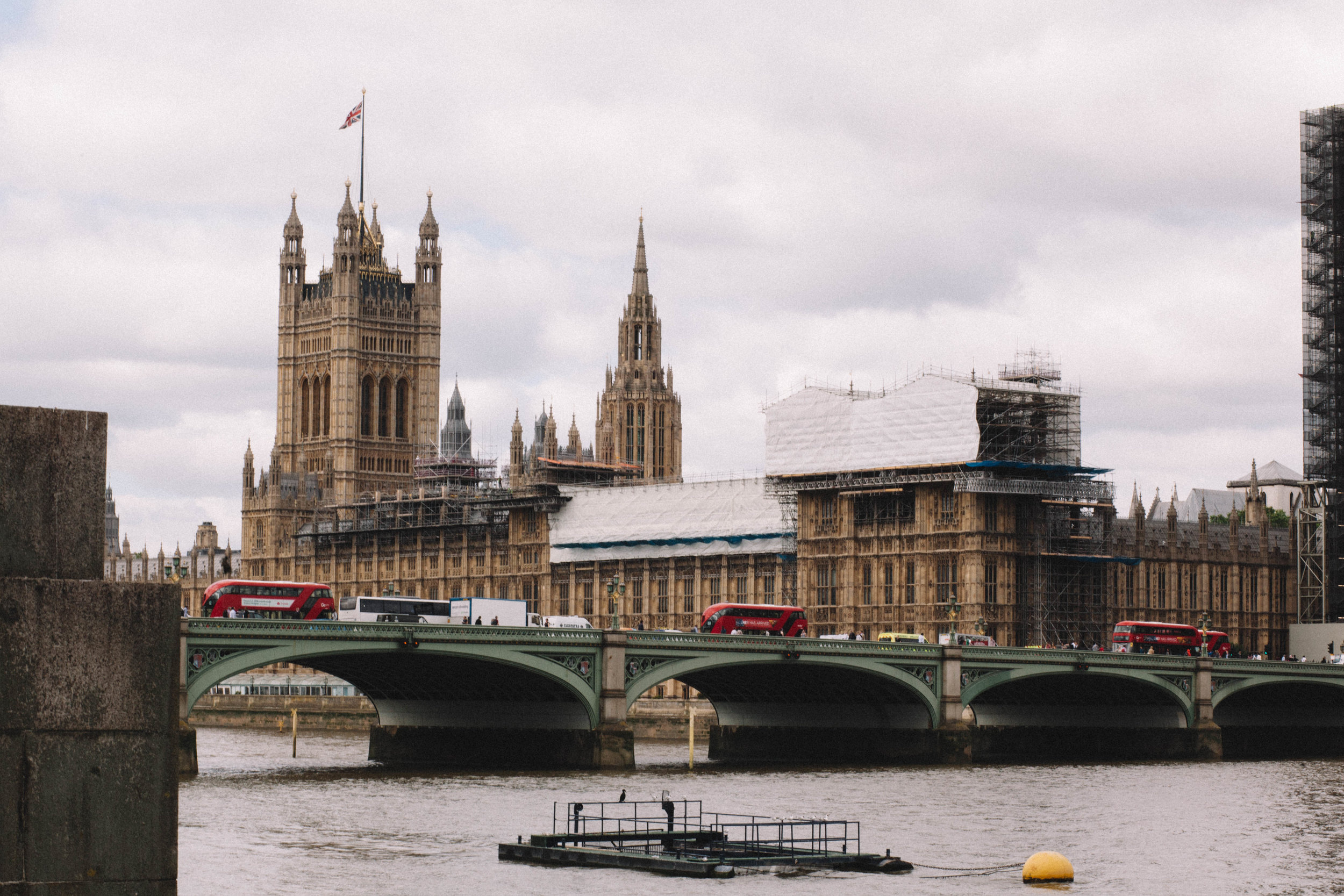 Parliament (Big Ben is currently under renovations so no good photos of him!)