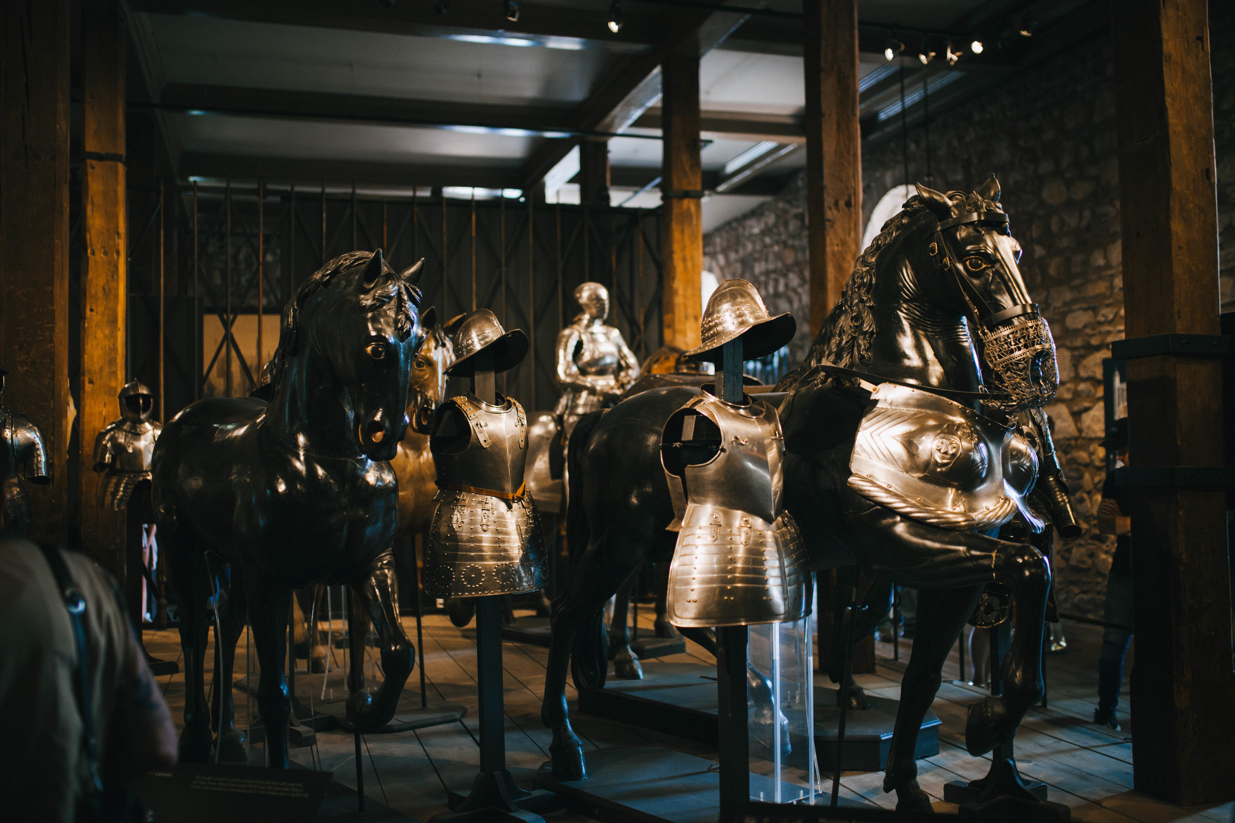 Armour displays in White Tower