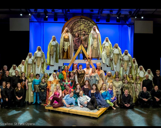 The Cast and Crew of  The Magic Flute  2018