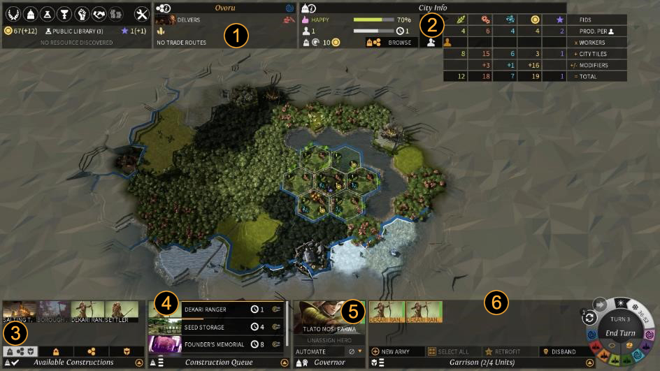 City managment in  Endless Legend. Source: endless-legend.wikia.com