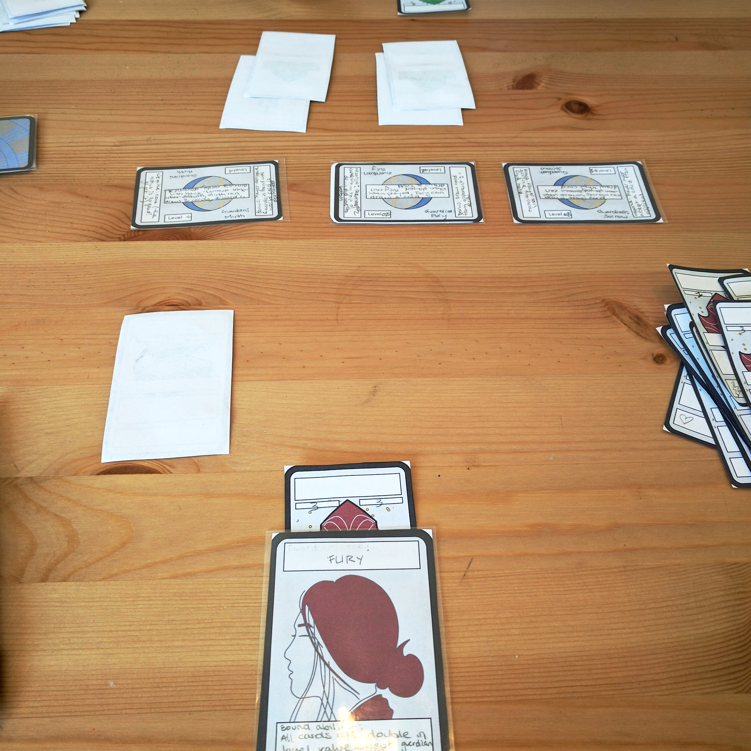 Duration of Play: - The game itself takes approximately 15-25 minutes to complete. A match between well balanced, experienced players could take up to 35 minutes.This game connects players aesthetically and strategically. It allows for a long-term feeling of attachment as players build a stronger, better deck with each new publication of cards.