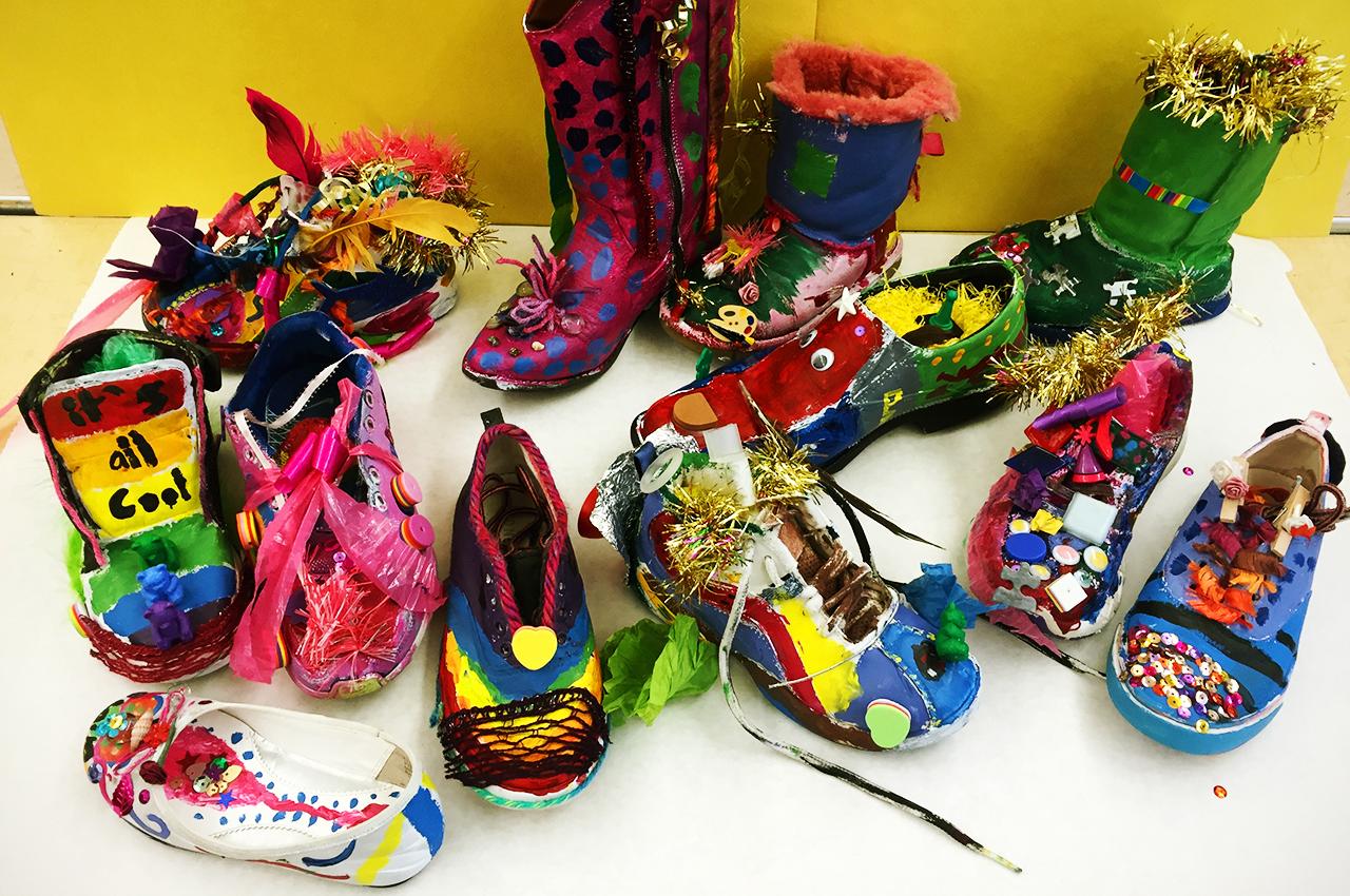 Wacky shoes