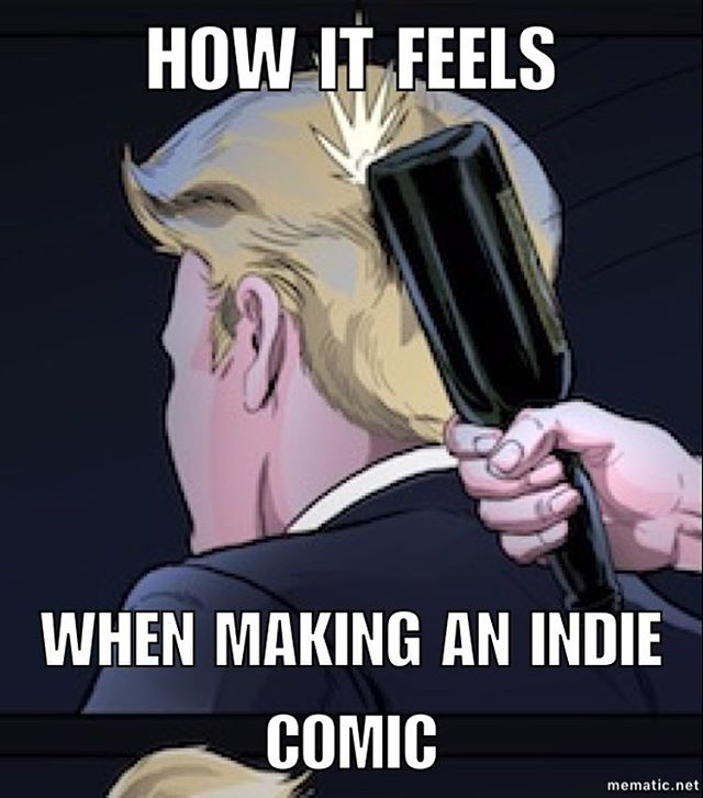 Self explanatory.  #comics #indiecomic #indiecomic #indiecomicslove #comicslife #comicsbook #comicbooks #comicbookartist