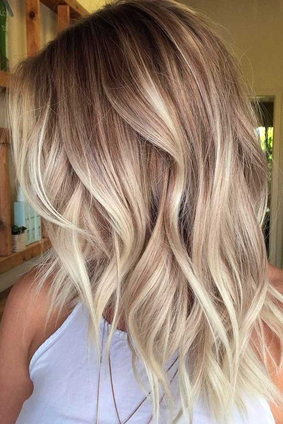 Balayage Foliage Baby Lights Shadow Root Aura