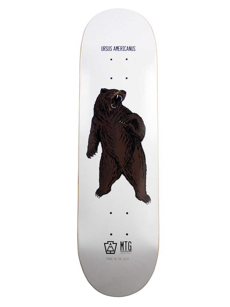 "Ursus Americanus 8.5"" Skateboard Deck"