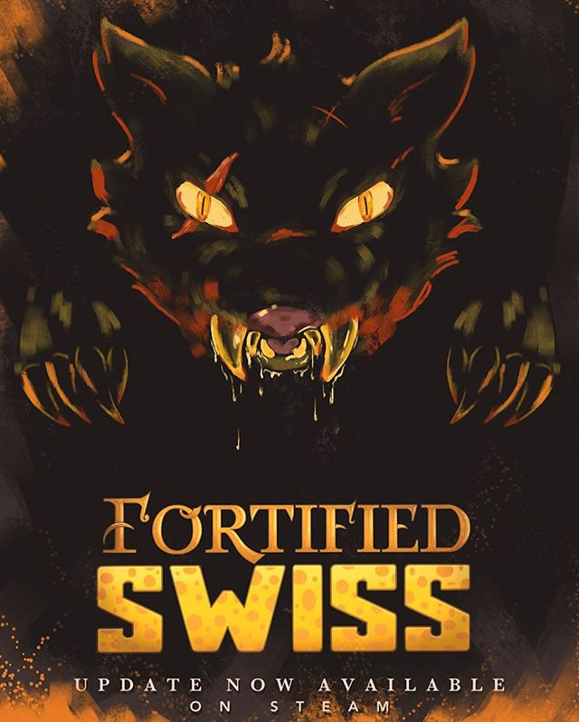 Fortified Swiss has been updated! Check it out on Steam!  https://store.steampowered.com/app/910230/Fortified_Swiss/  #games #art #videogames