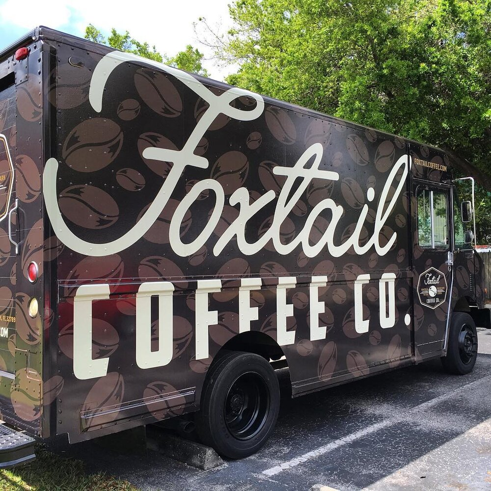 Foxtail Coffee |   Vehicle Wrap
