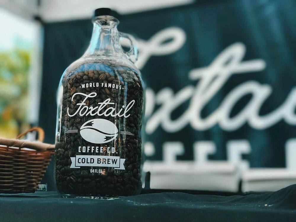 Foxtail Coffee |   Growler Branding