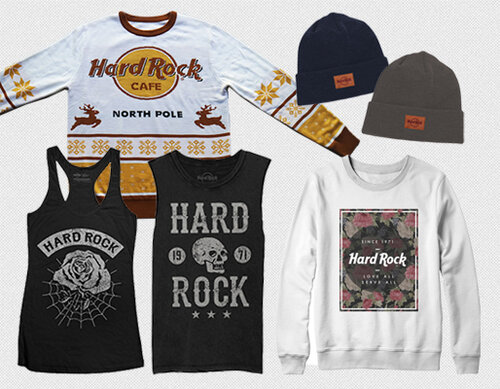Hard Rock International |   Apparel Design, Manufacturing & E-Commerce