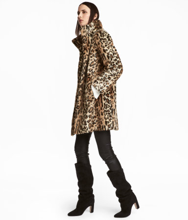 HM   Faux Fur Coat