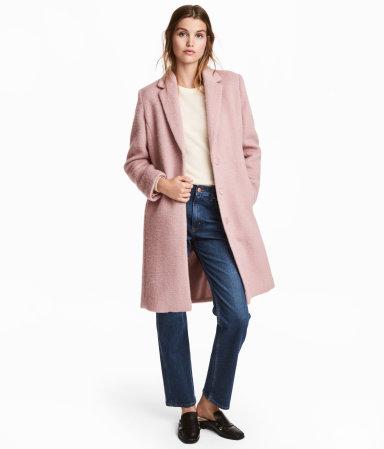 HM Short Wool Blend Coat