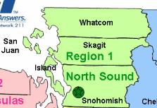 North Sound Call Center Regions