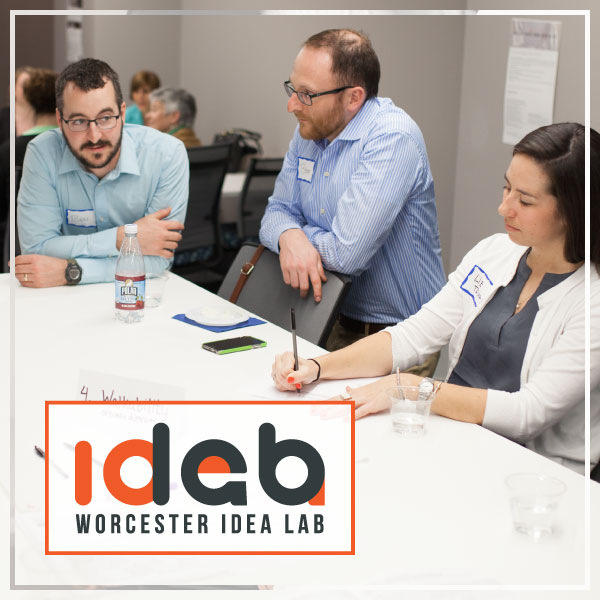 Worcester Idea Lab is a collaborative workspace in the heart of Central Massachusetts.