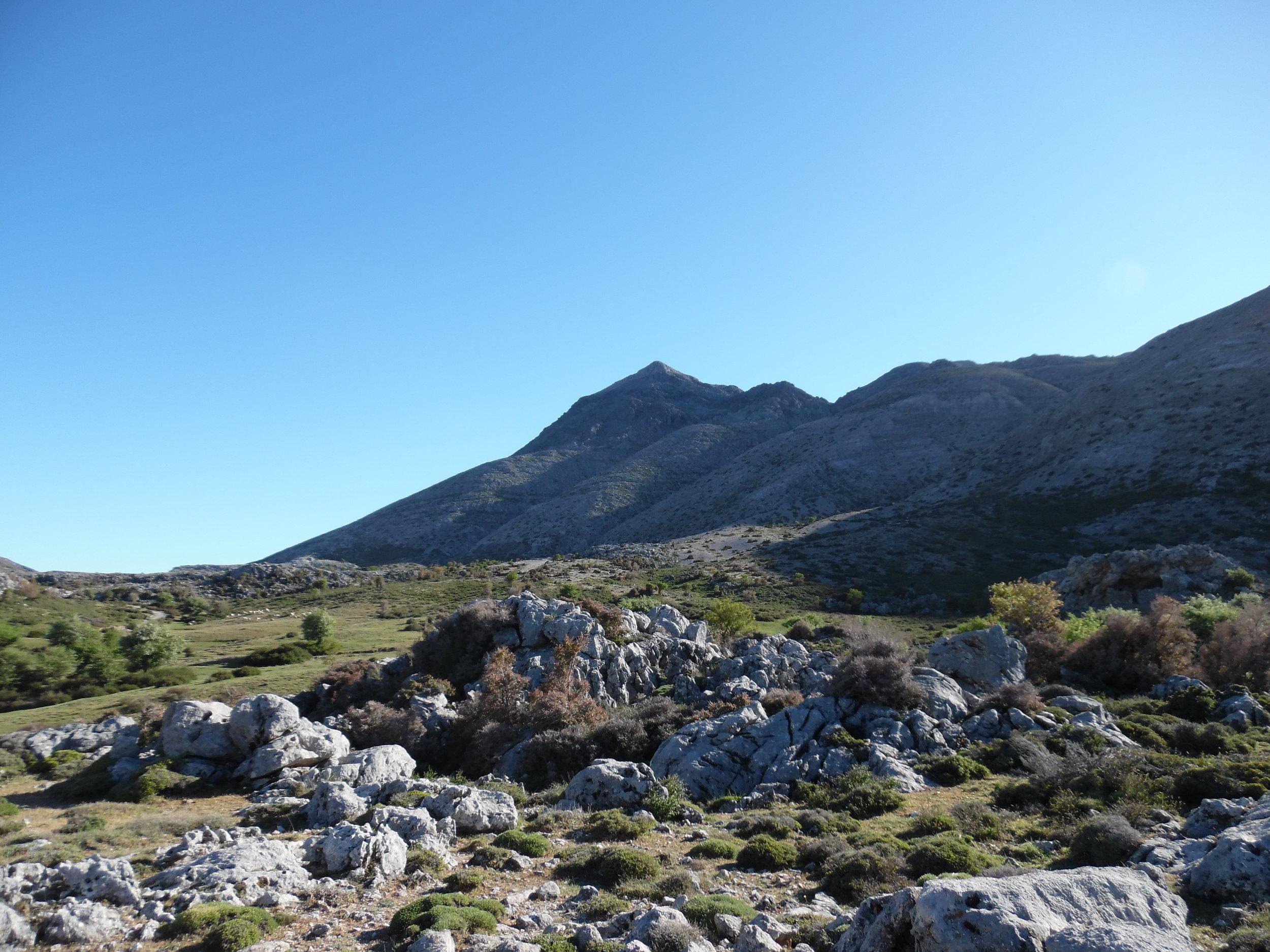 Black Peak. Photo By G. Xylouris