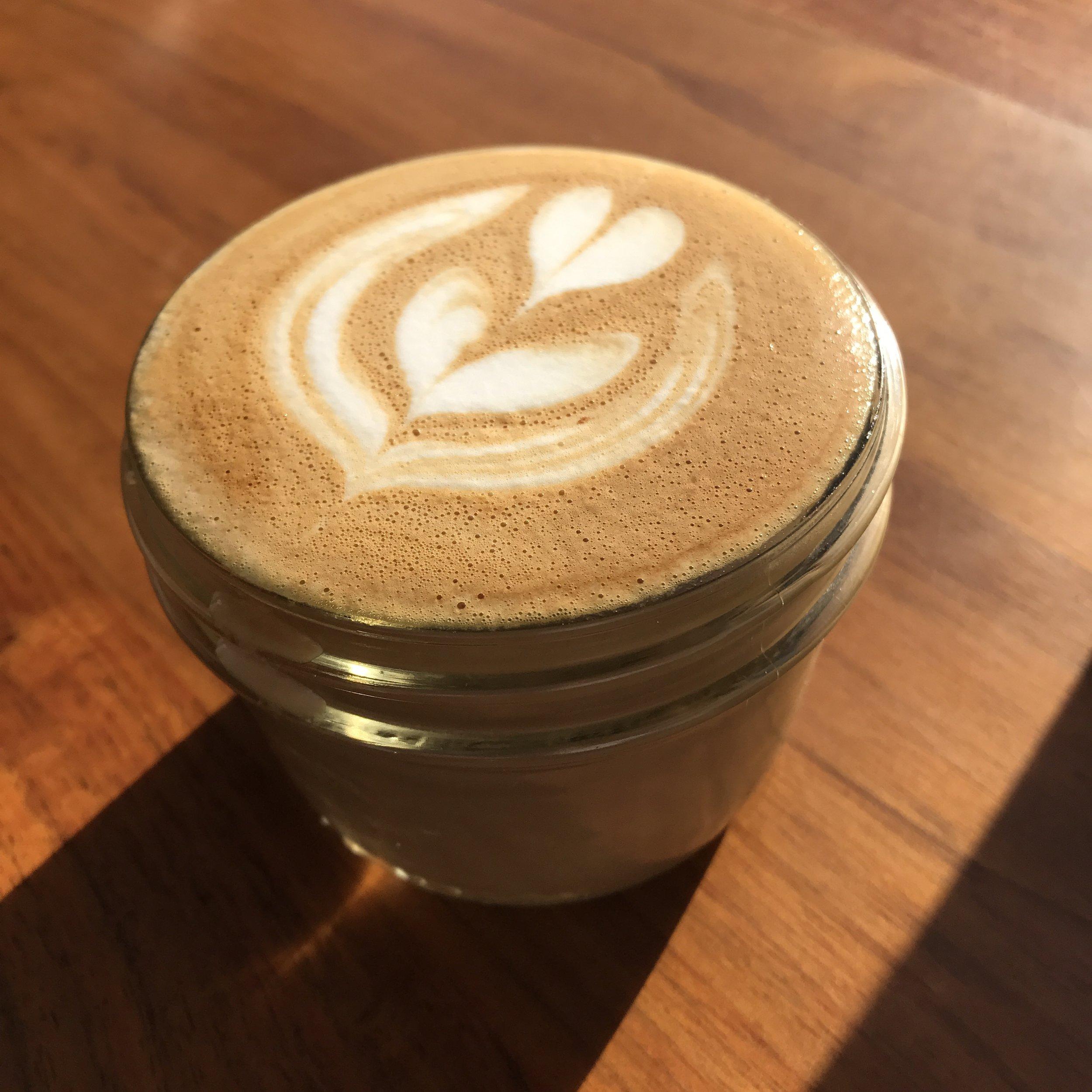 WARM COFFEE IN WINTER SUNSHINE