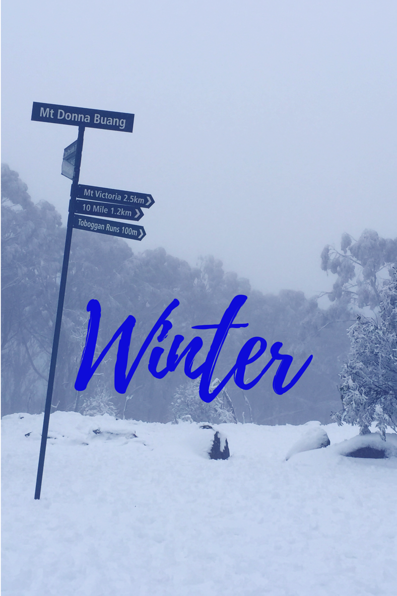 Your guide to Winter in and around Melbourne