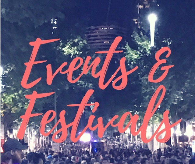 Your guide to Events & Festivals in and around Melbourne. View the full list  here .   Contact us  with your event info.