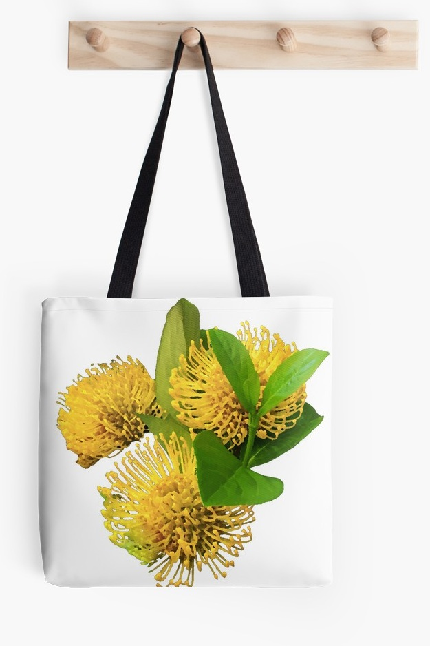 Tote Bags - Tote bags inspired by Australian Flora