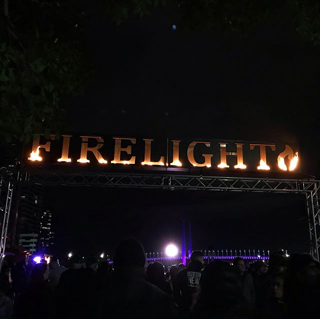 Melbourne brings it with the Firelight Festival at Docklands this weekend! . . . #melburnianguideto #docklands #firelightfestival #melbournewinter
