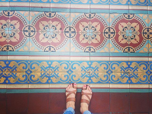 Tile floors in San Jose 🇨🇷😍❤ . . #tilefloors #inspired #ceramics #sanjose #costarica #flooring