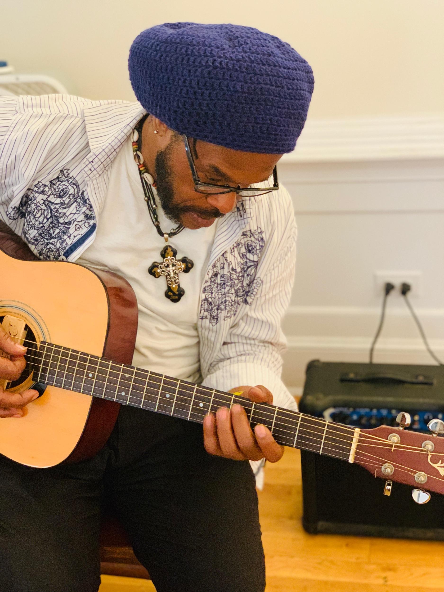 Fredrix On Guitar