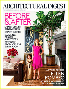 Actress Ellen Pompeo's Mediterranean-Style Villa in Los Angeles