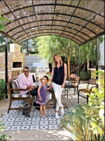 AD Visits: Ellen Pompeo at Home