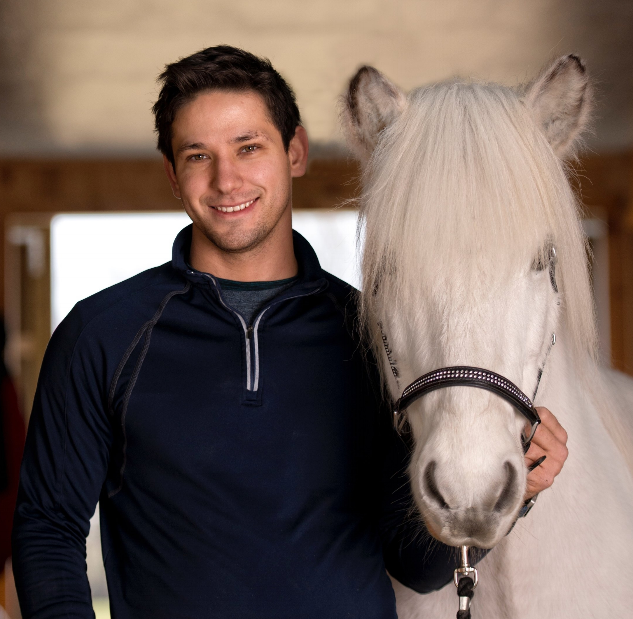 Terral Hill has been riding horses since he was a year old, sitting in the saddle in front of his mother. He has handled and cared for horses all his life, and started his formal education training horses with Terry Wilson, a Parelli certified natural horsemanship trainer and colt starter. Terral learned from the ground up with Terry, starting horses naturally,on the ground and progressing to the saddle.   Terral worked for Gudmar Petursson, learning the special techniques and methods specific to the Icelandic horse. He started young horses for Gudmar, and started learning and training the gaits of the Icelandic horse. Terral also worked in Iceland starting young horses, and is well known both in the United States and Iceland for his natural horsemanship techniques starting horses and gait training. Terral began his career in Iceland working at one of the biggest breeding farms Fét for Anton Páll Nielson. At Fet, Terral passed a test judged by Eyjolfur Ísólfsson, Þorvaldur Árni, and Anton Páll Nielson qualifying him as a young horse trainer of Icelandic horses.Later he spent a year working for two of the most respected competitive riders and trainers in Iceland Hulda Gustafsdóttir and Hinrik Bragason.  Throughout his time working for Gudmar and in Iceland Terral also mastered Icelandic horse farrier skills and is recognized for his abilities to create a healthy balanced foot while encourage optimal performance.  Since his return to the states Terral has been the highest-ranked rider in Five Gait (2015 and 2016) in the U.S. Icelandic Congress National Ranking and has qualified multiple times for the U.S. Icelandic Horse World Championship Team. In addition he is one of the main performers in the fast-paced and fiery Knights of Iceland Show Team working in particular training and preparing the fire and sparkler acts. When not traveling and teaching clinics or competing Terral is the primary trainer and instructor alongside Carrie at Taktur.