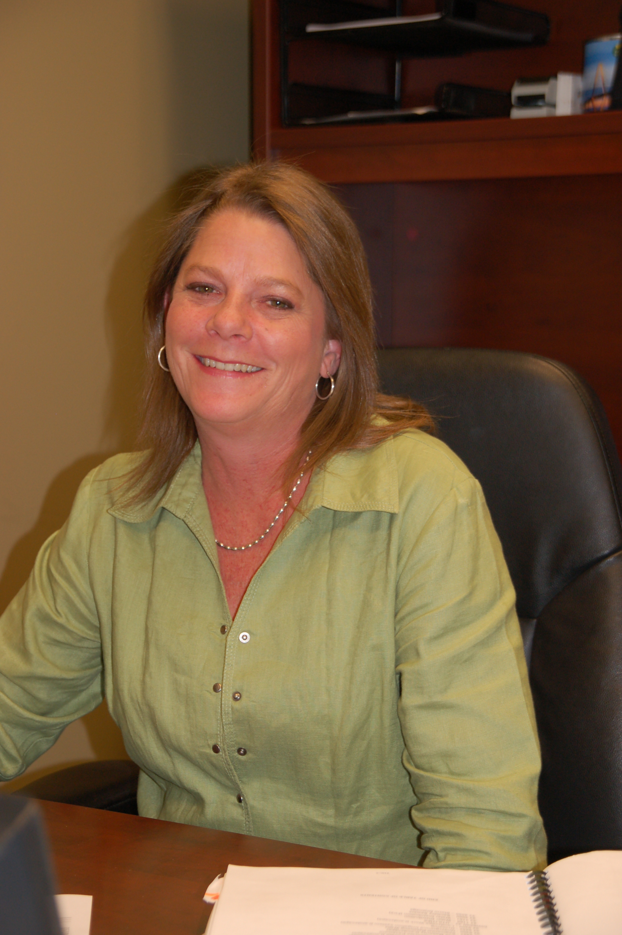 Angie Bowen, Administrative Coordinator for EBS, Exterior Building Solutions
