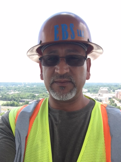 Jesse Buitron, Project Manager for EBS, Exterior Building Solutions