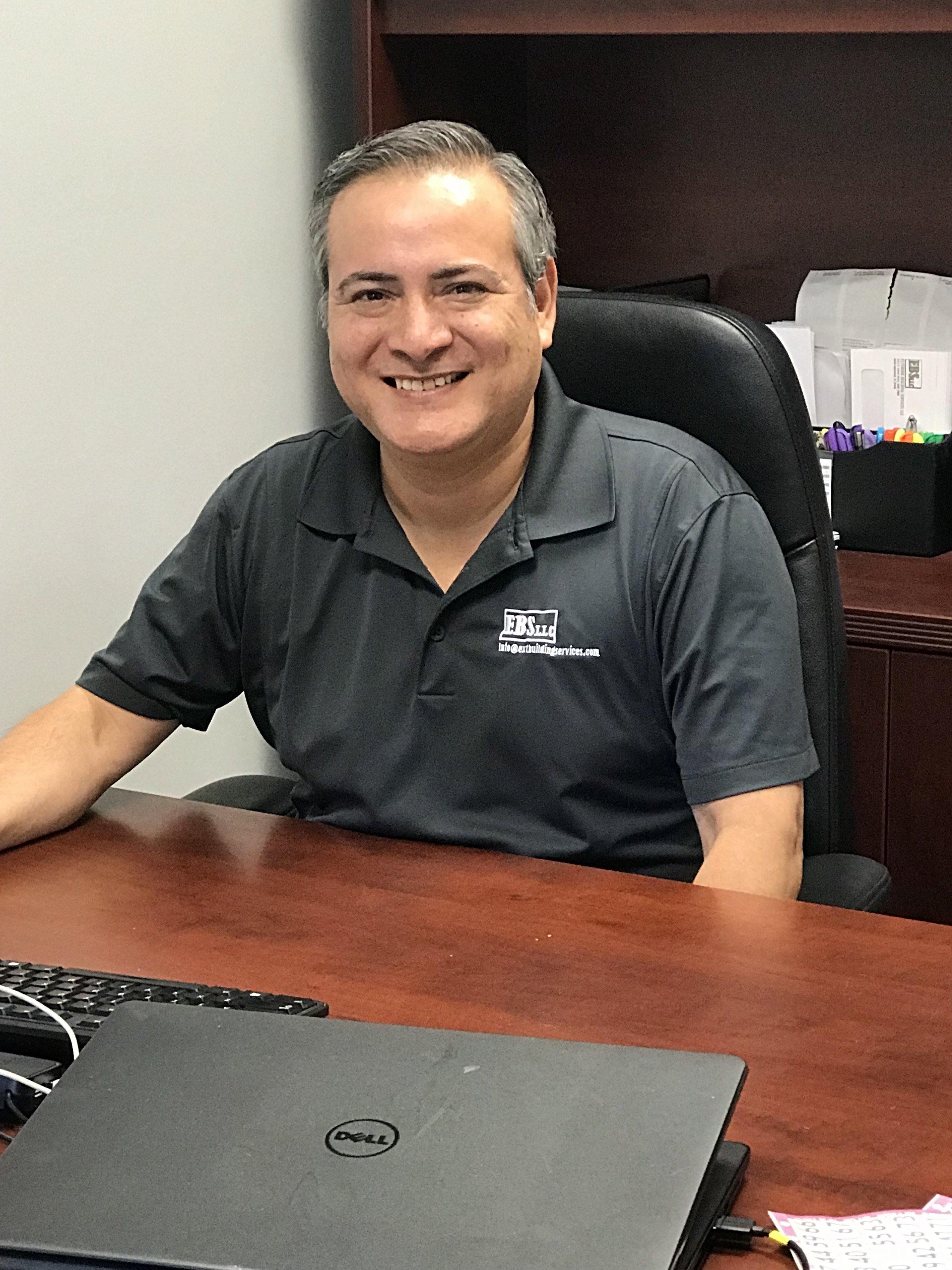 Eduardo Martinez, Head of Cost Analysis for EBS, Exterior Building Solutions