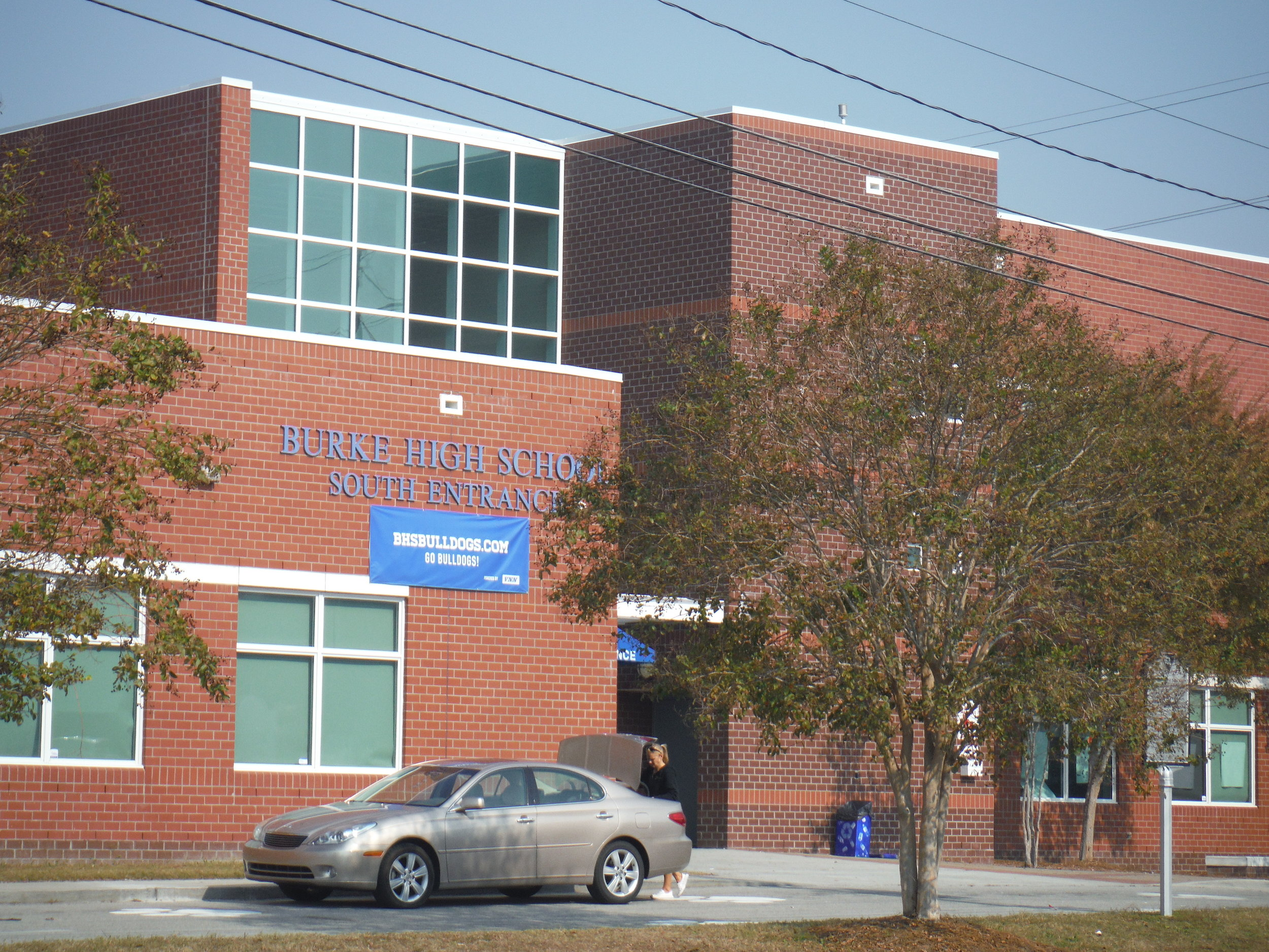 Burke High School Project by EBS, Exterior Building Services, LLC