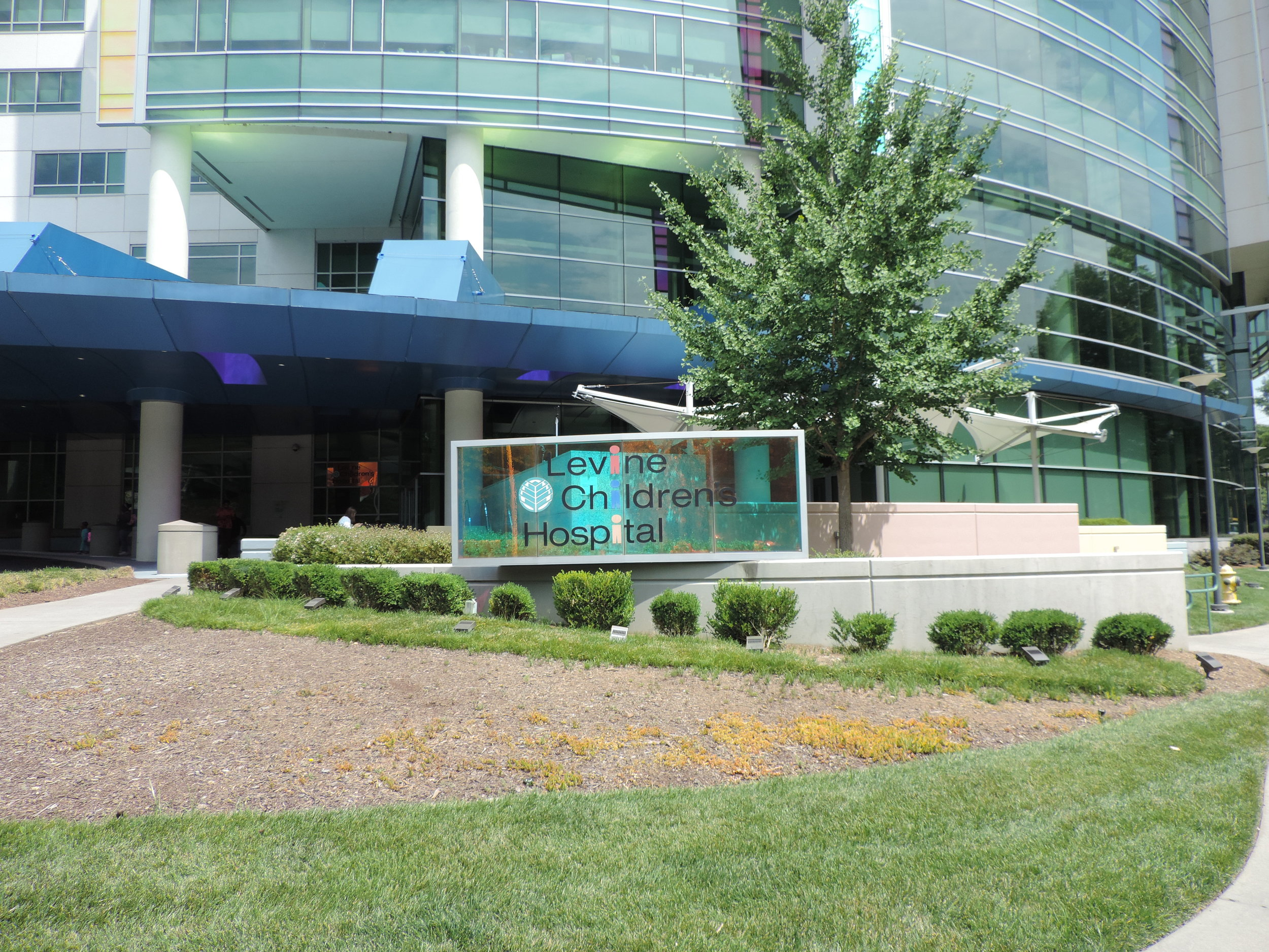 Levine Children's Hospital Project by EBS, Exterior Building Services, LLC
