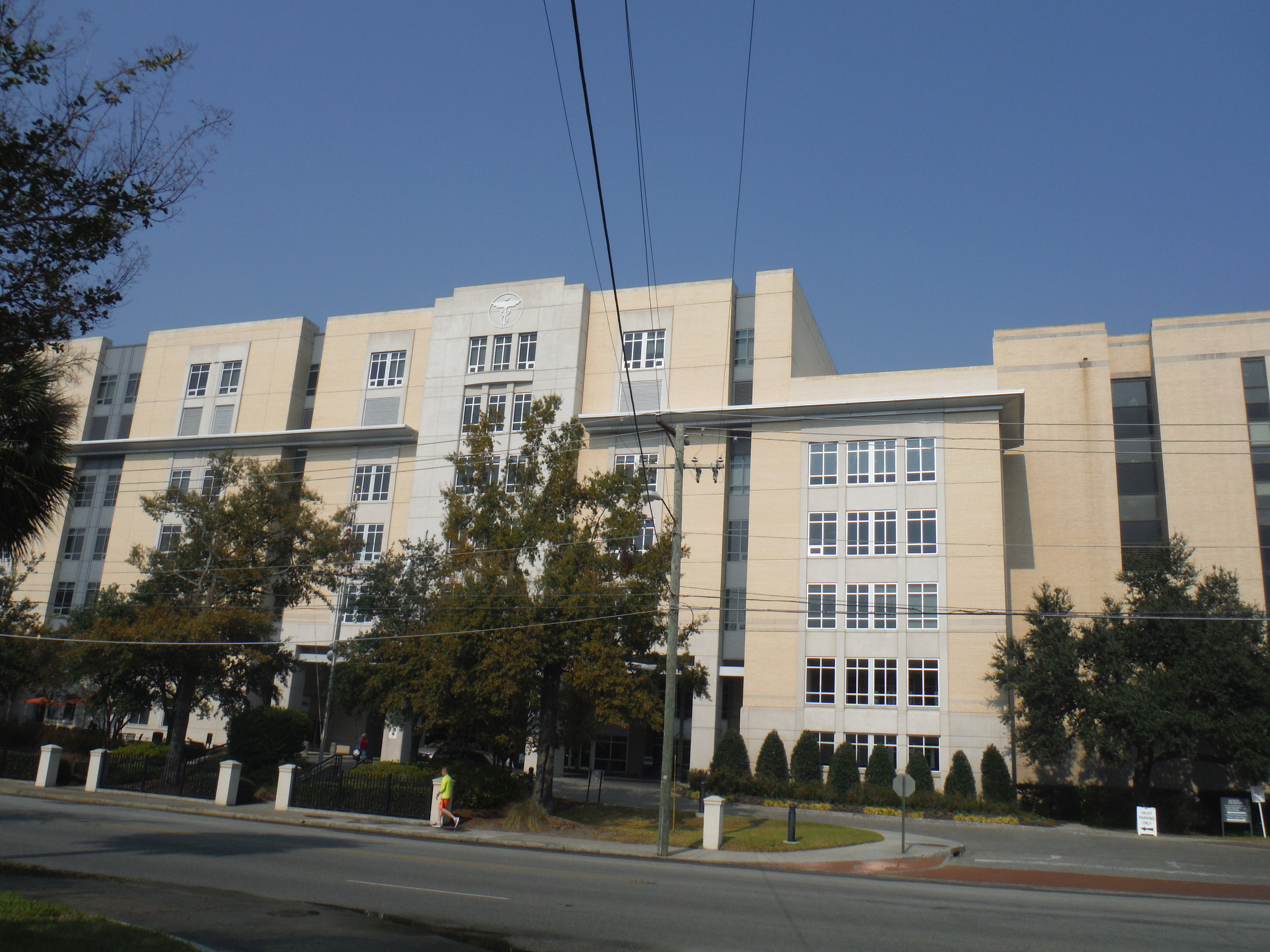 Roper Hospital Project by EBS, Exterior Building Services, LLC
