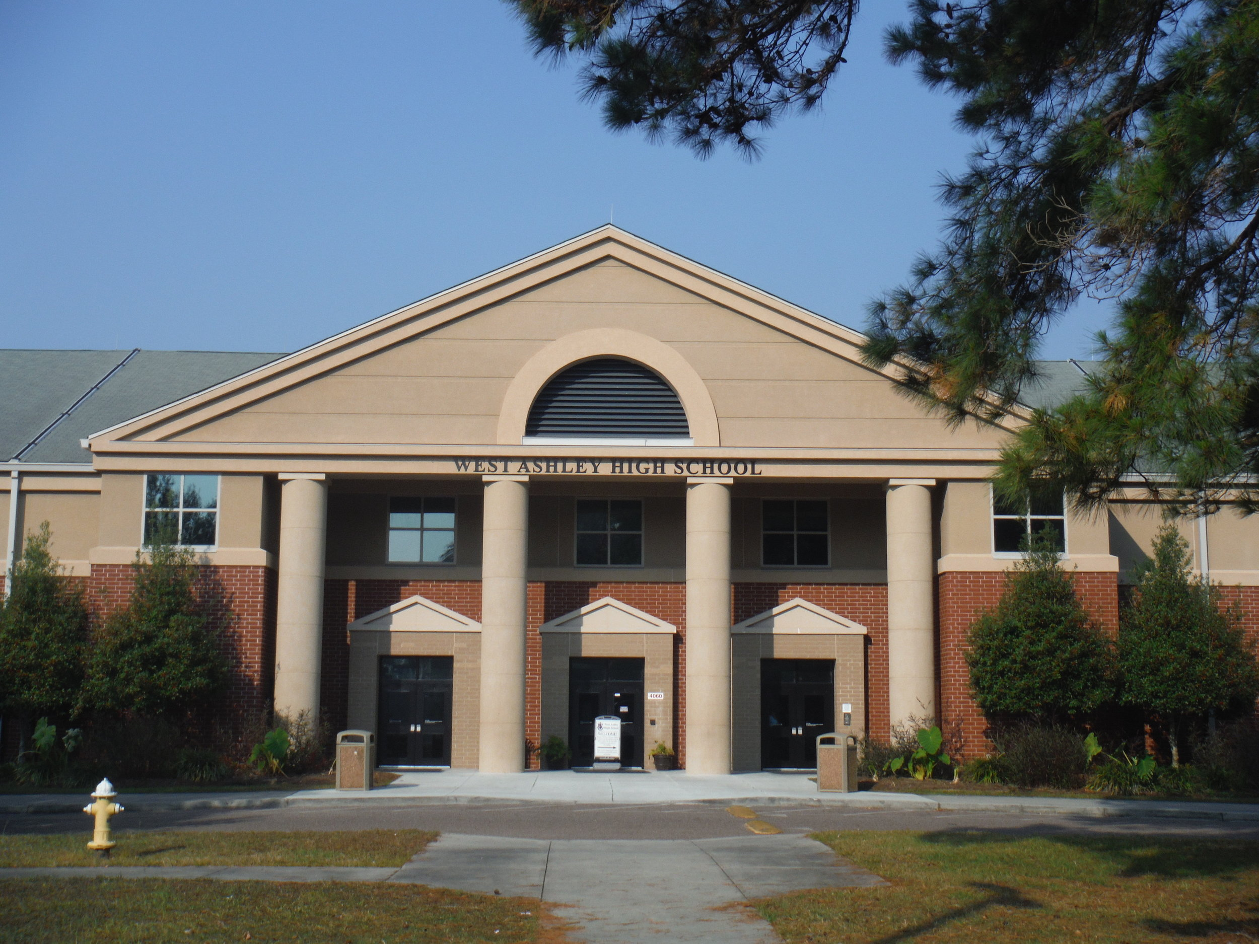 West Ashley high school Project by EBS, Exterior Building Services, LLC