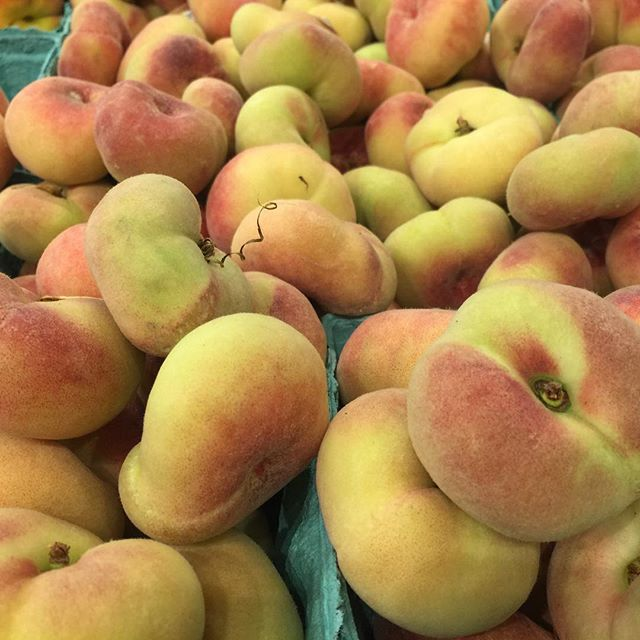 Today the US celebrates National Donut Day 🍩  I am in the minority in that I don't like most fried foods… 🤷🏻‍♀️ I did, however, spy these donut peaches at Whole Foods today… (aren't they adorbs?!!) 🍑  Does that mean I sliding by on a technicality? 🤔 Did you celebrate by eating a donut today? 😋