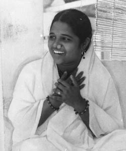 """Amma  """"Nowadays everybody wants to become a leader. No one wants to become a servant. In reality, the world is badly in need of servants, not leaders. A real servant is a real leader."""""""