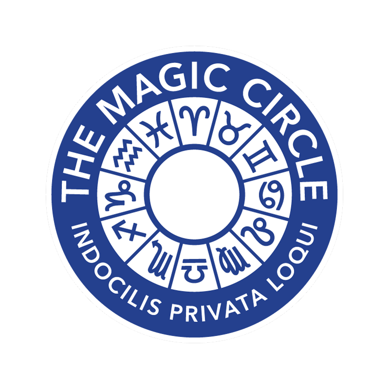 Regular host of parlour shows for  At Home With The Magic Circle --and proud member!