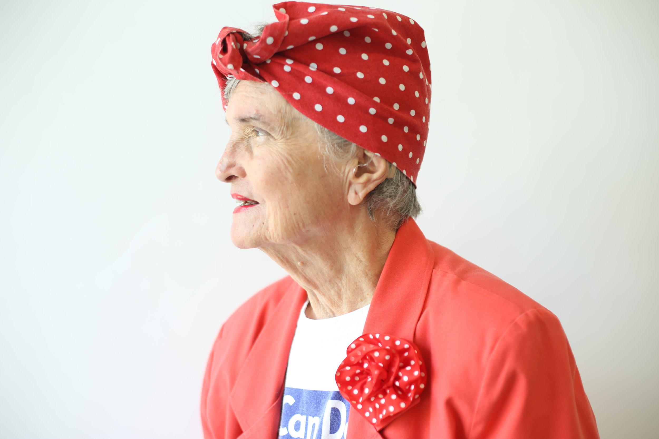Rosie the Riveter: Iris