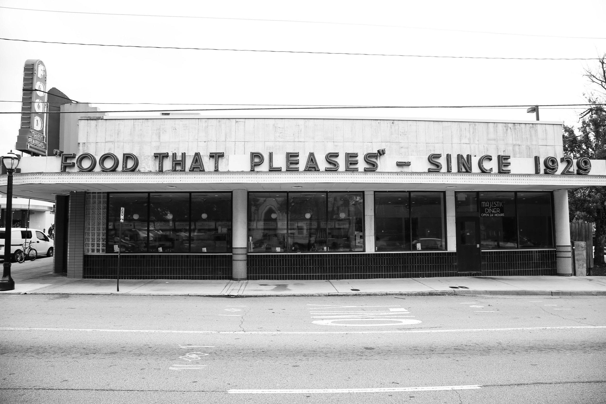 Majestic Diner, Atlanta, Ga | For  Wendover Art Group