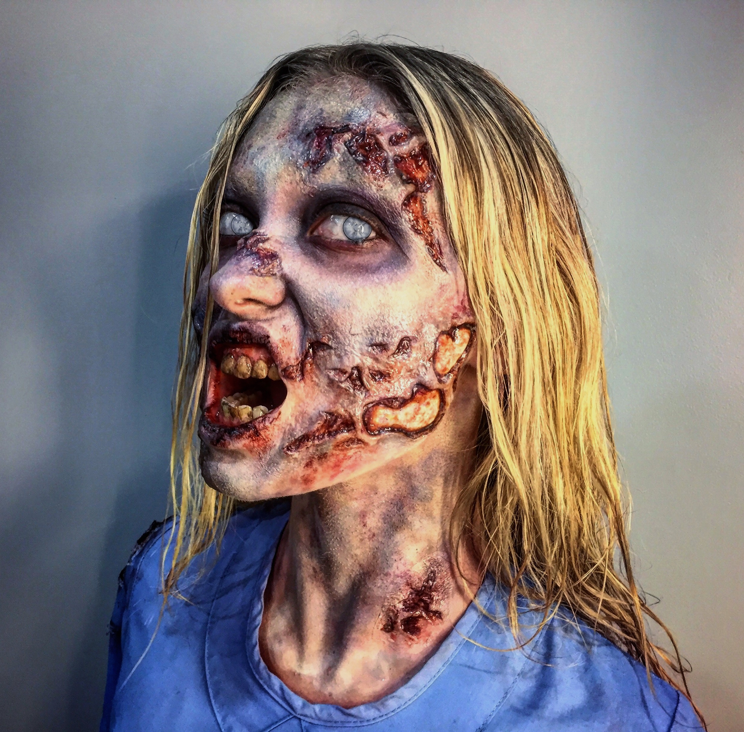 Application/Makeup by Hannah Sherer for Tinsley Transfers Merchandise/Social Media. Sculpt by Tinsley Transfers.