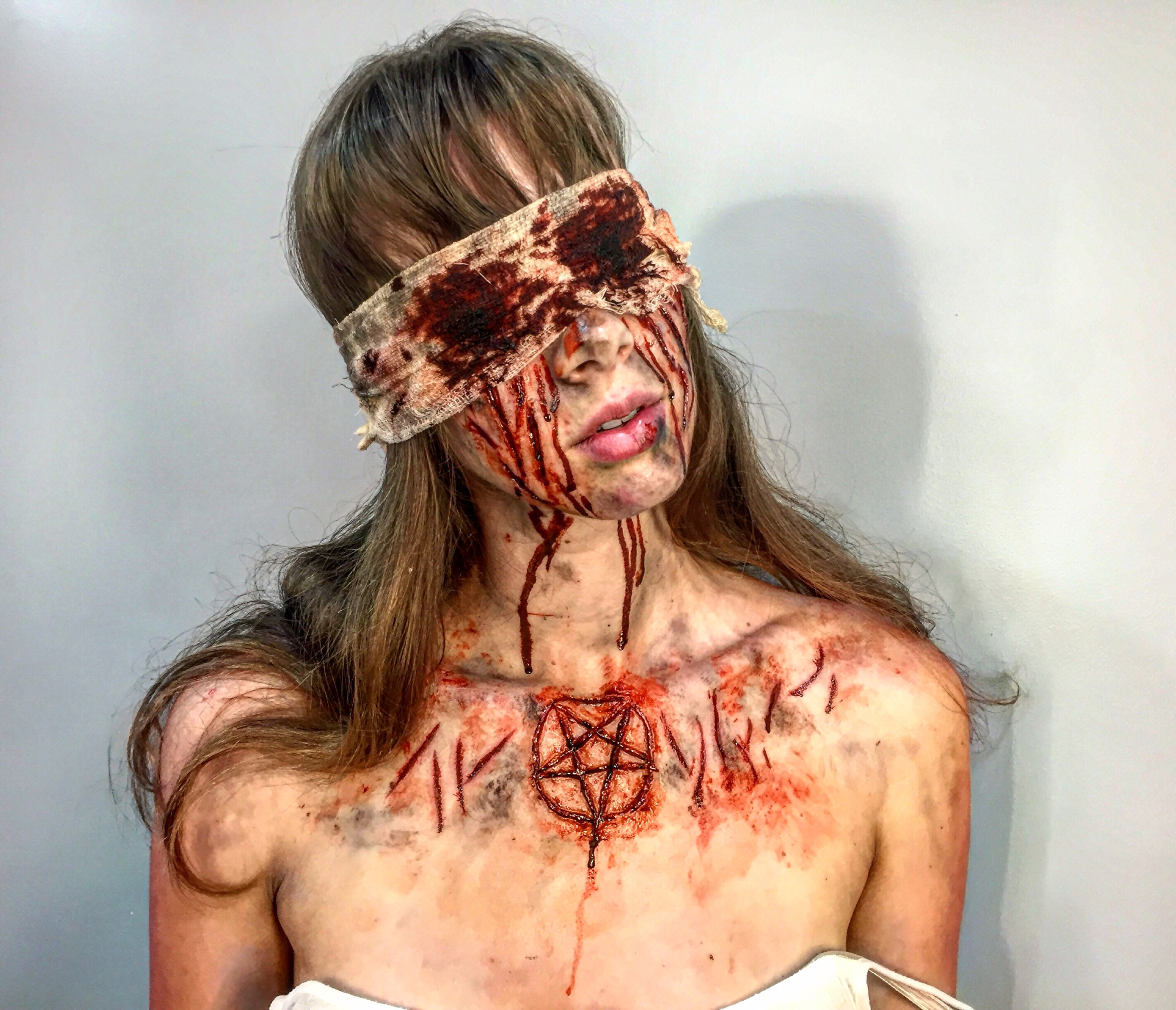 Application/Makeup by Hannah Reed for Tinsley Transfers Merchandise/Social Media.  Sculpt by Tinsley Transfers.