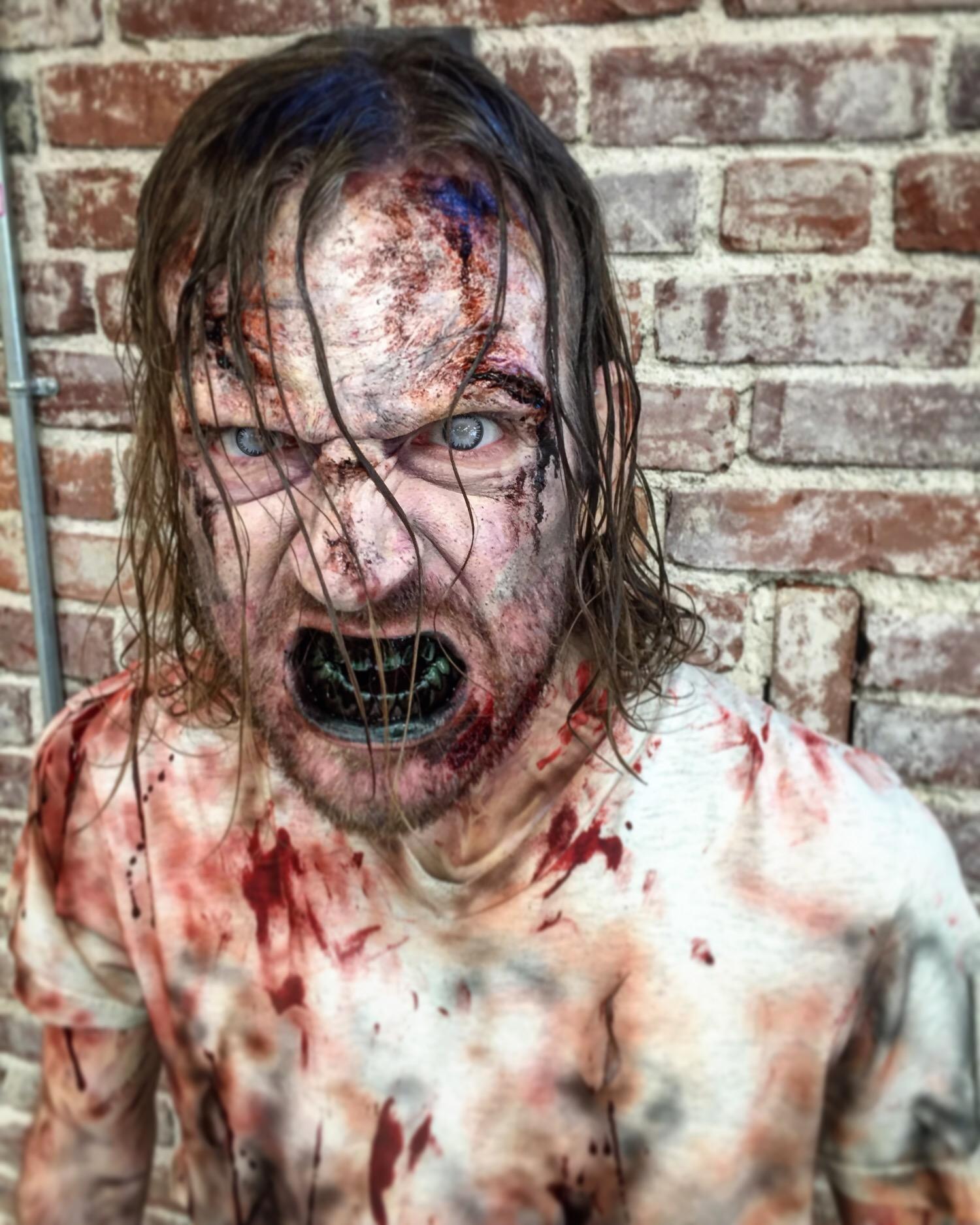 Zombie for Peta.   Makeup Artist: Hannah Reed
