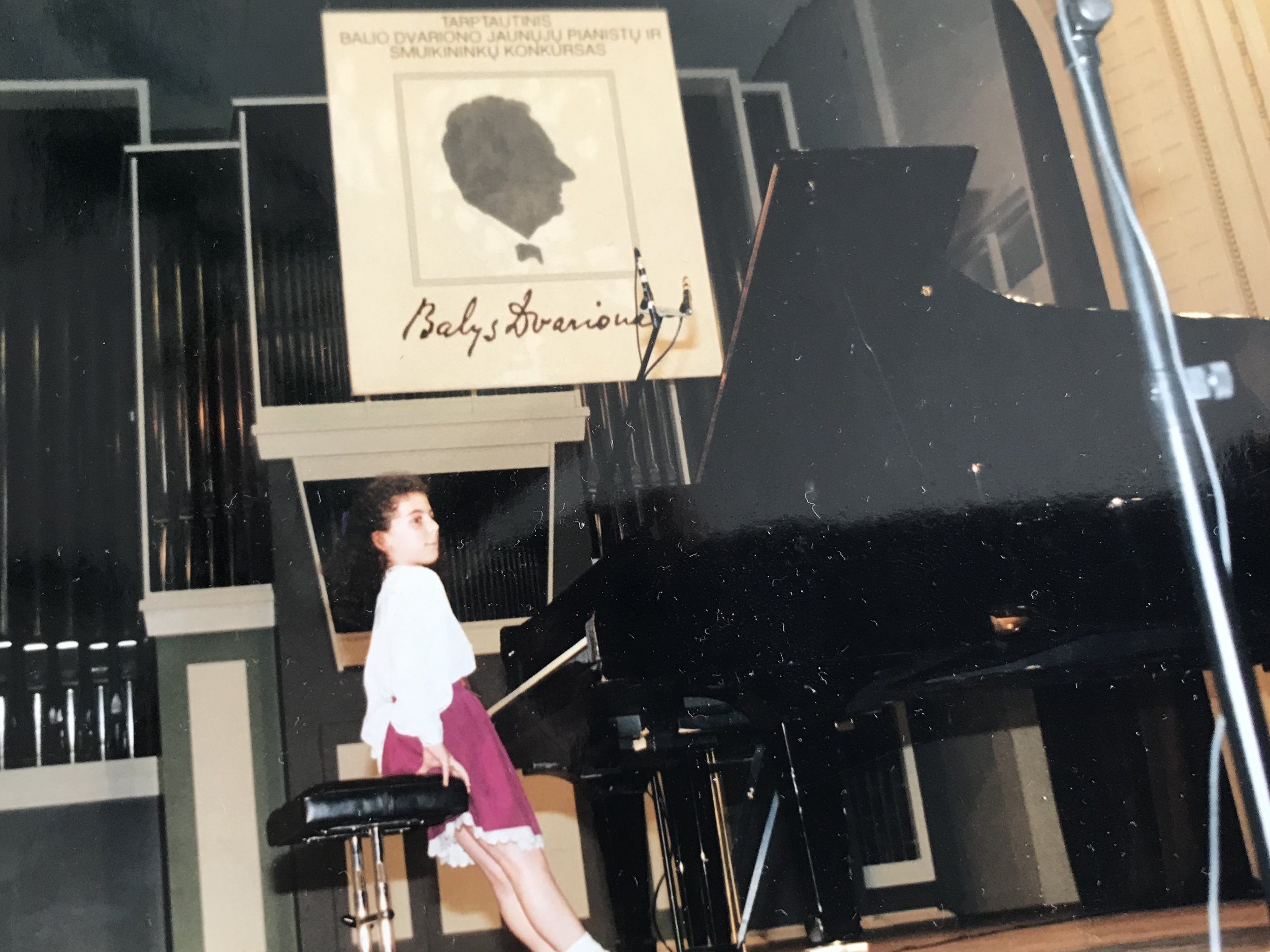 Winner's Gala at Balys Dvarionas International Piano Competition in Lithuania