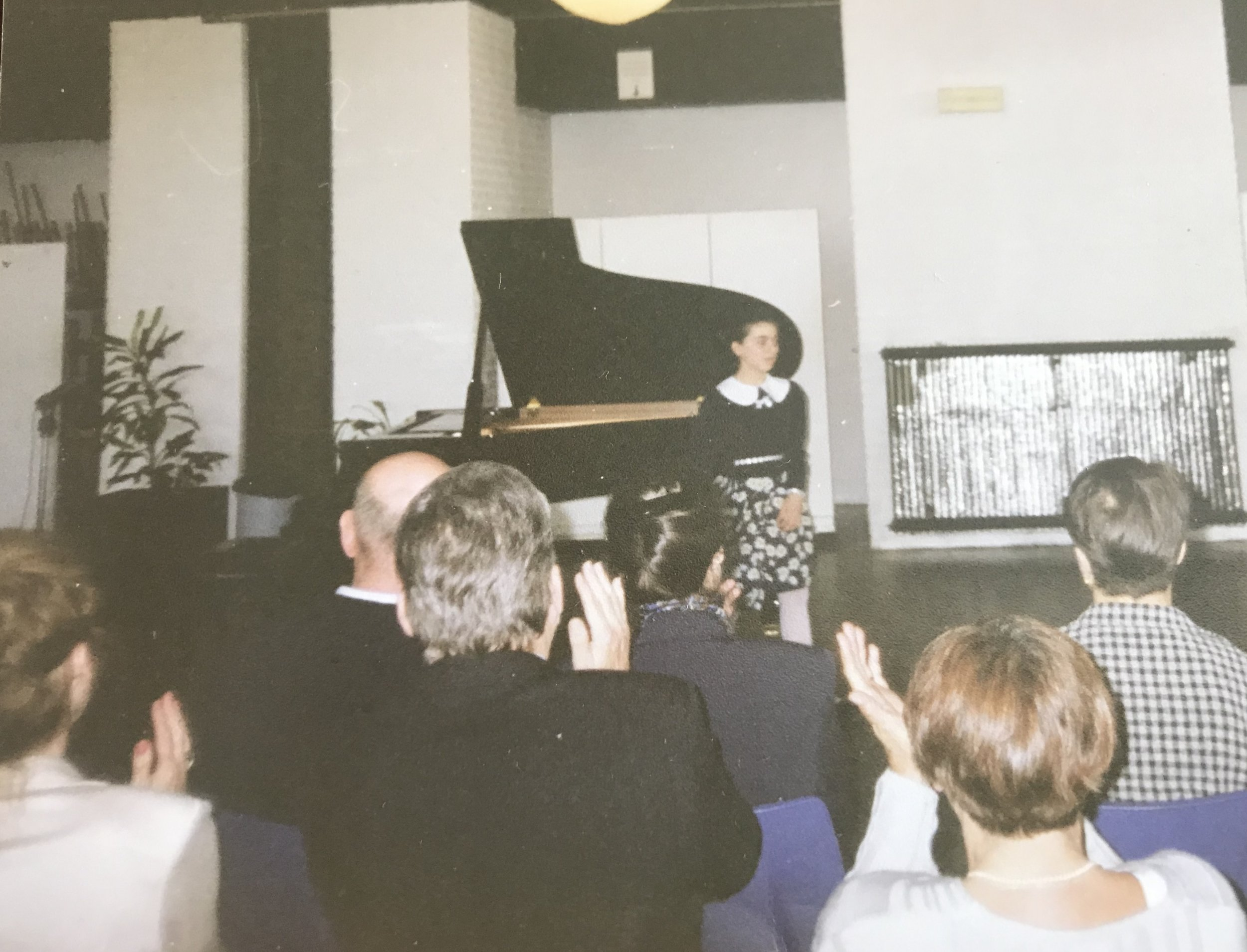 Recital in Holland