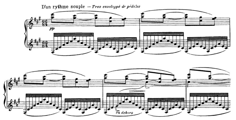 """Ravel's """"Une barque sur l'océan"""""""
