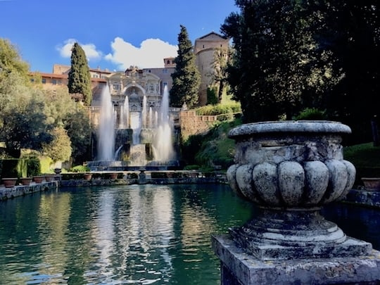 Fountains at the Villa d'Este